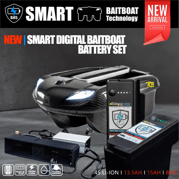 Smart Digital Baitboat Batterie Set