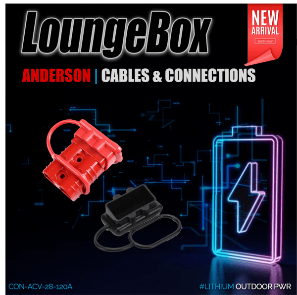 Anderson Rubber Cover for 120A