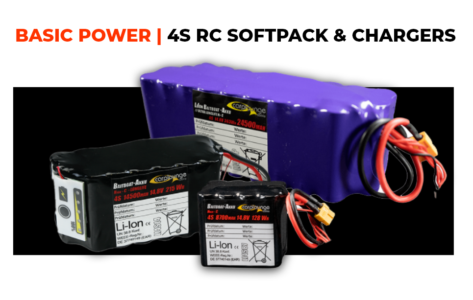 BASIC POWER | 4S SOFTPACKS