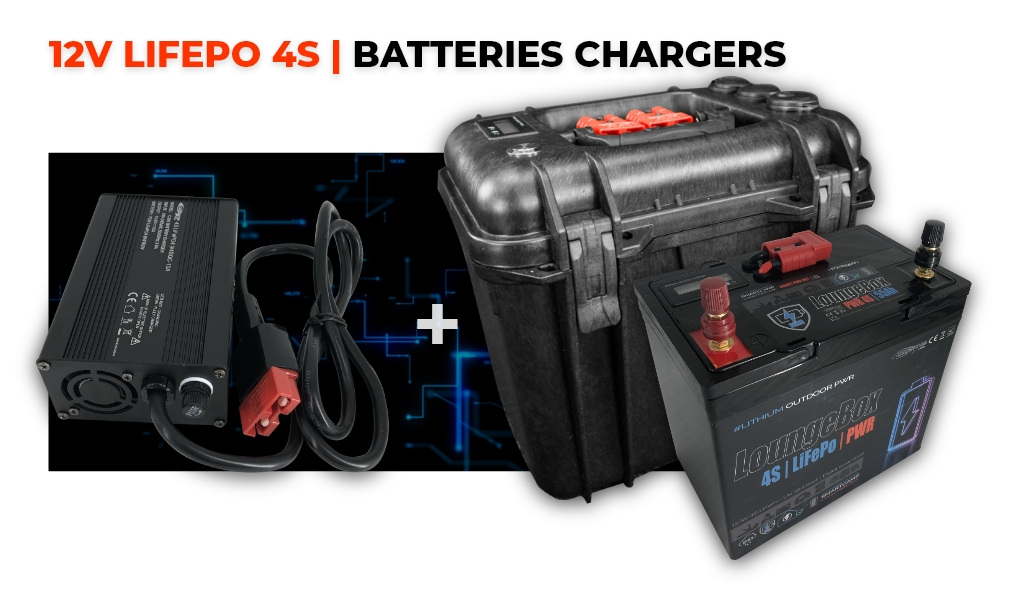 12V LiFePo 4S | Batteries & Chargers