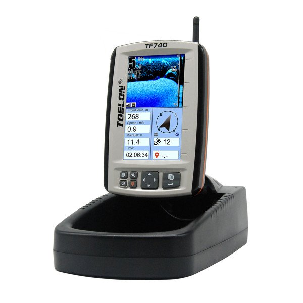 Toslon TF-740 Color Fishfinder /GPS /Autopilot