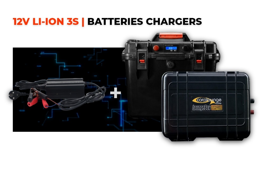 12V LiIon 3S | Batteries & Chargers