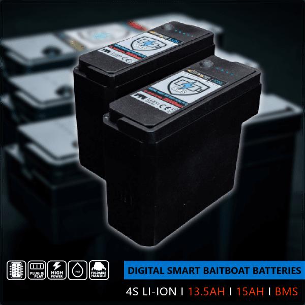 Digital Smart Baitboat Batterie Ultra Hi-C 4S I 13.5AH I BMS