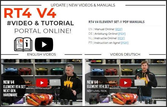 RT4 V4 VIDEO & TUTORIALS