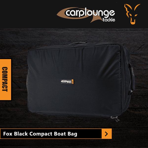 Fox Black Compact Boat Bag